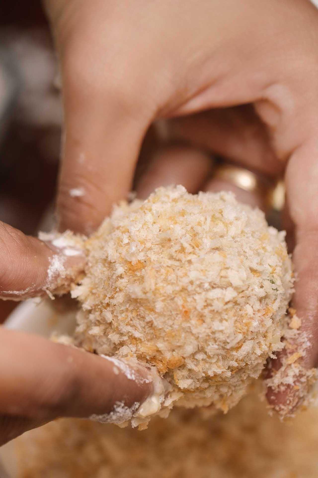 Risotto Rice Balls Recipe