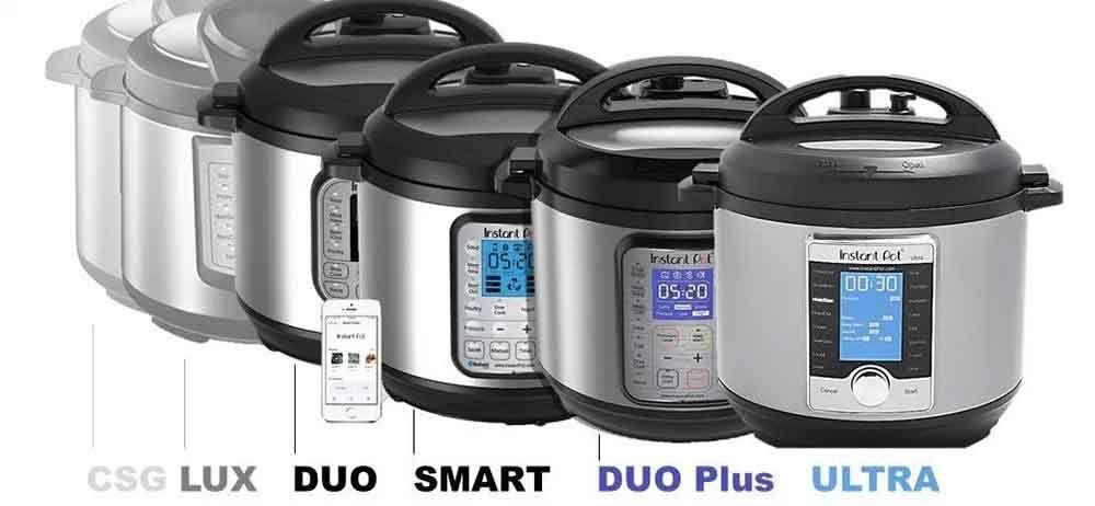 Type of instant pots