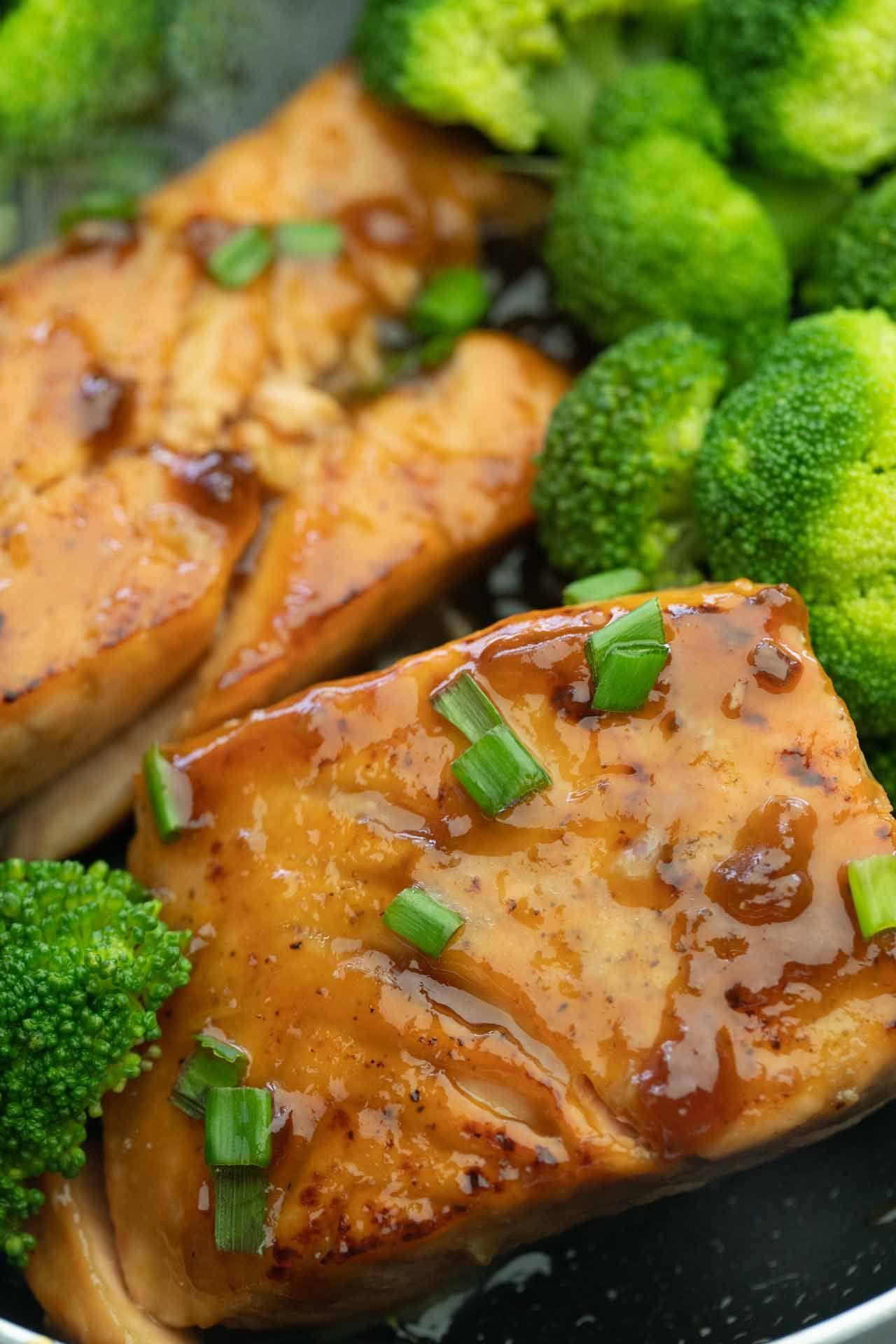 Honey Glazed Salmon Recipe