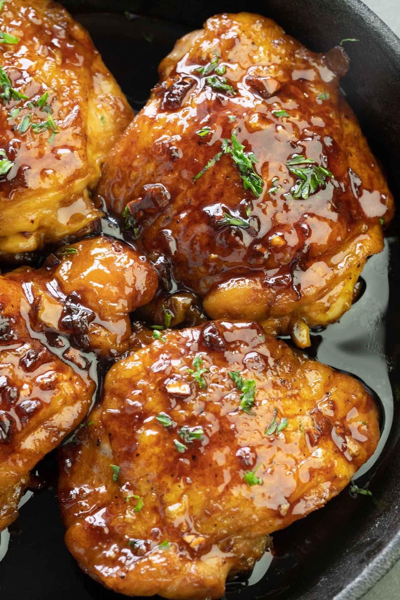 Pan-Roasted Honey Butter Chicken Recipe