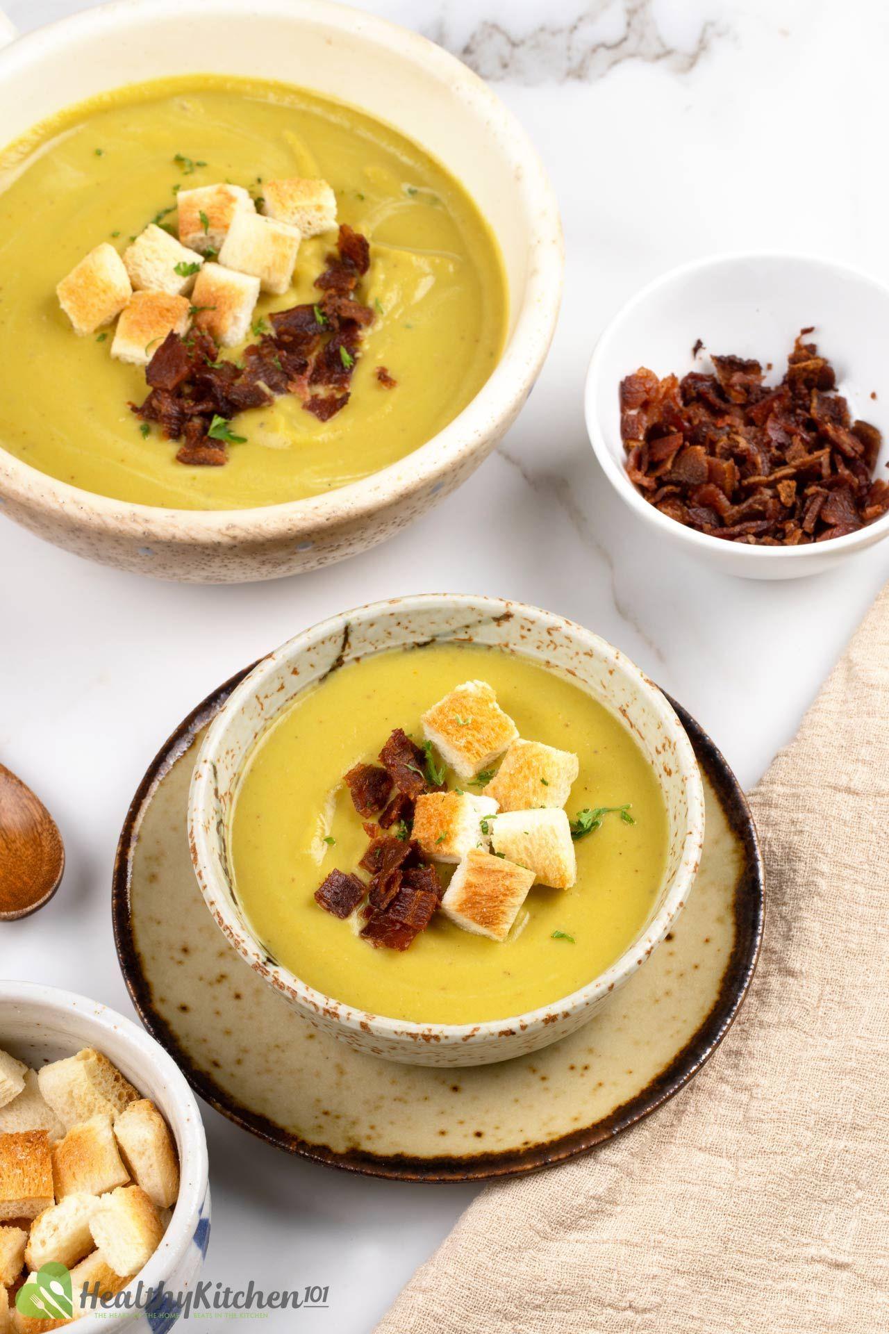 is split pea soup healthy
