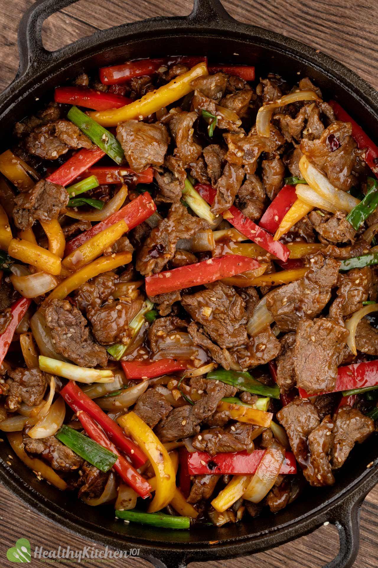 healthy pepper steak recipe