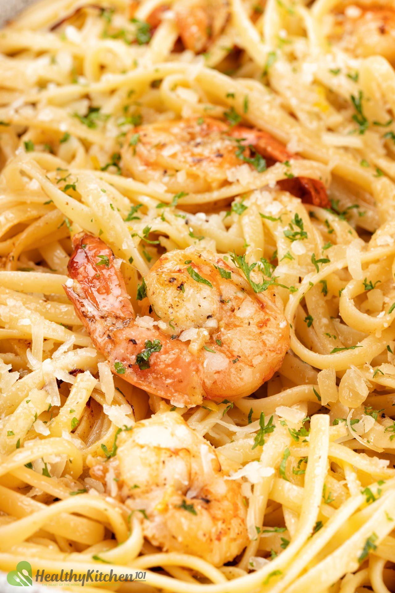 Shrimp Scrampi Recipe