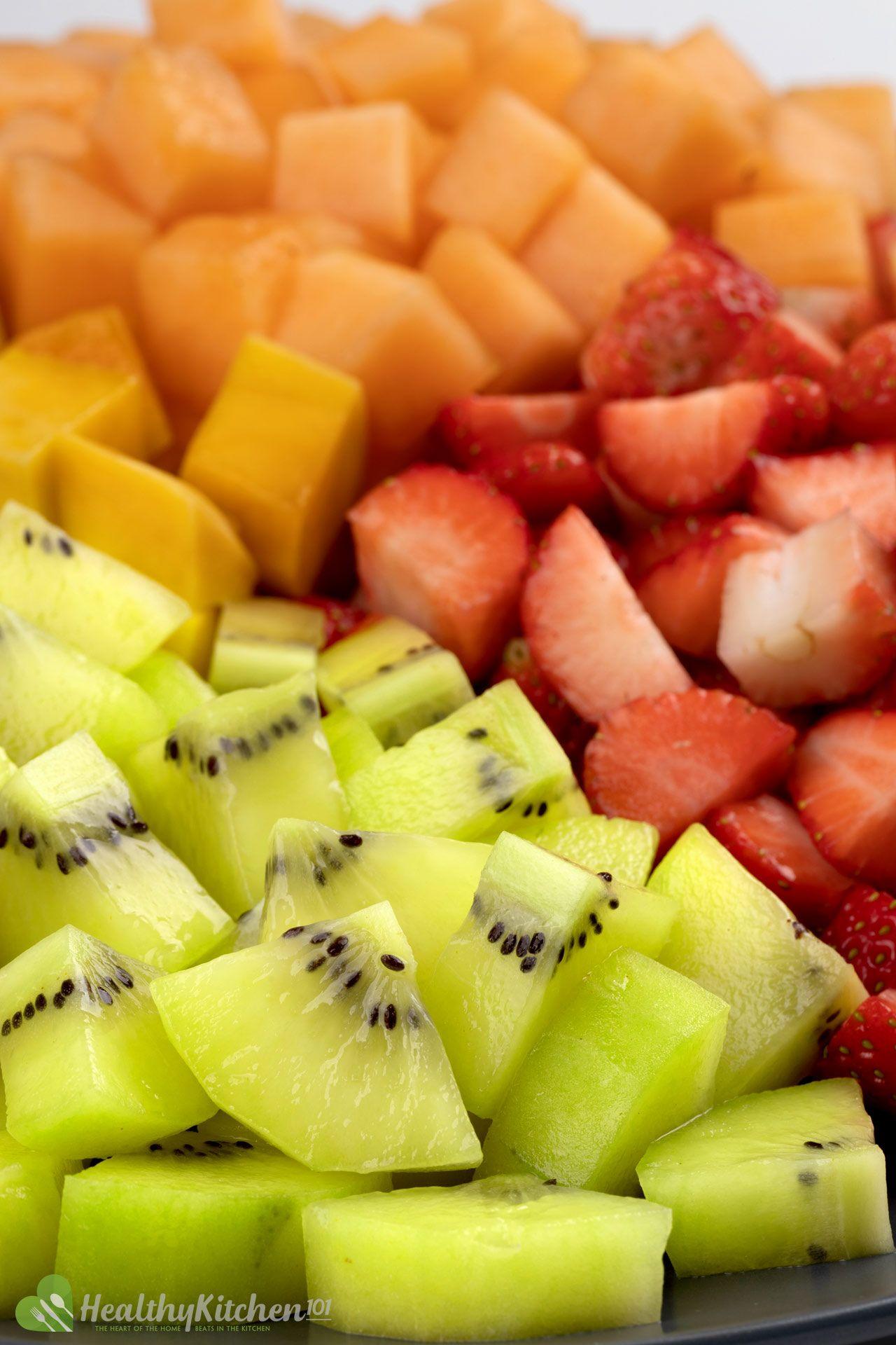fresh fruits salad recipe