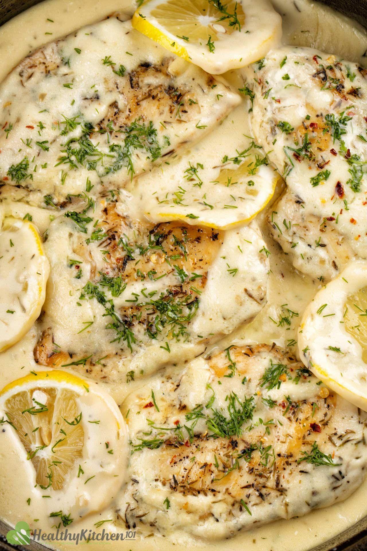 healthy lemon chicken recipe