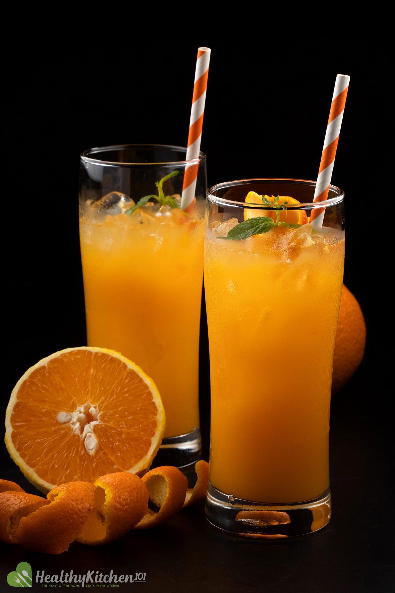 Simply Orange Juice Recipe Healthykitchen101