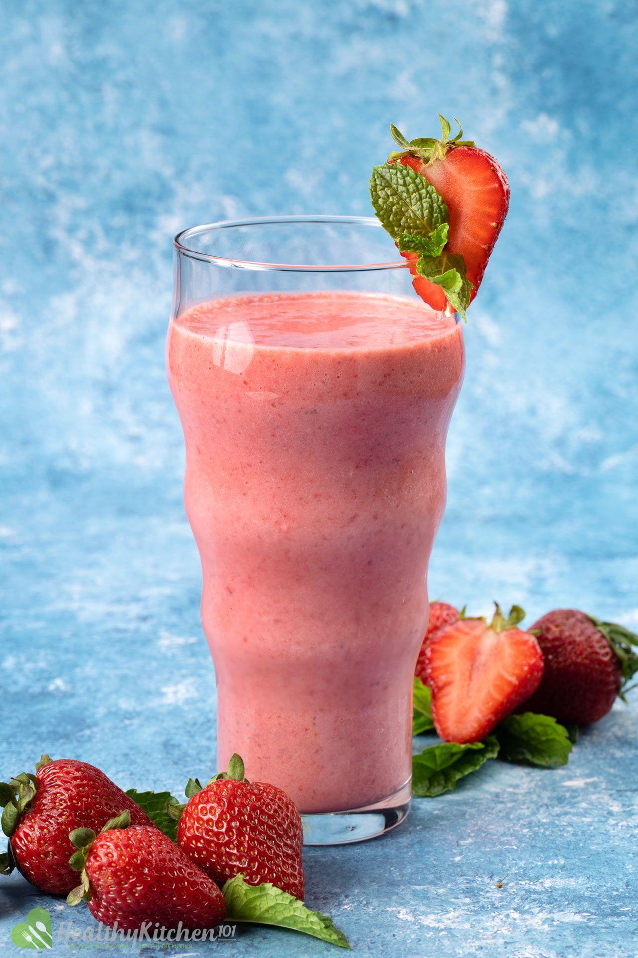 Strawberry Smoothie Recipe Healthy Chicken 101 5