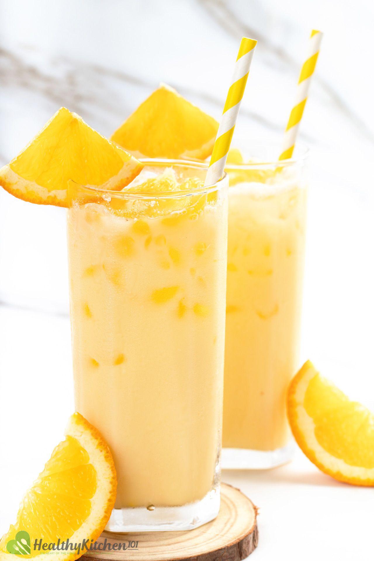 Milk And Orange Juice Recipe Morir Sonando Creamy And Velvety