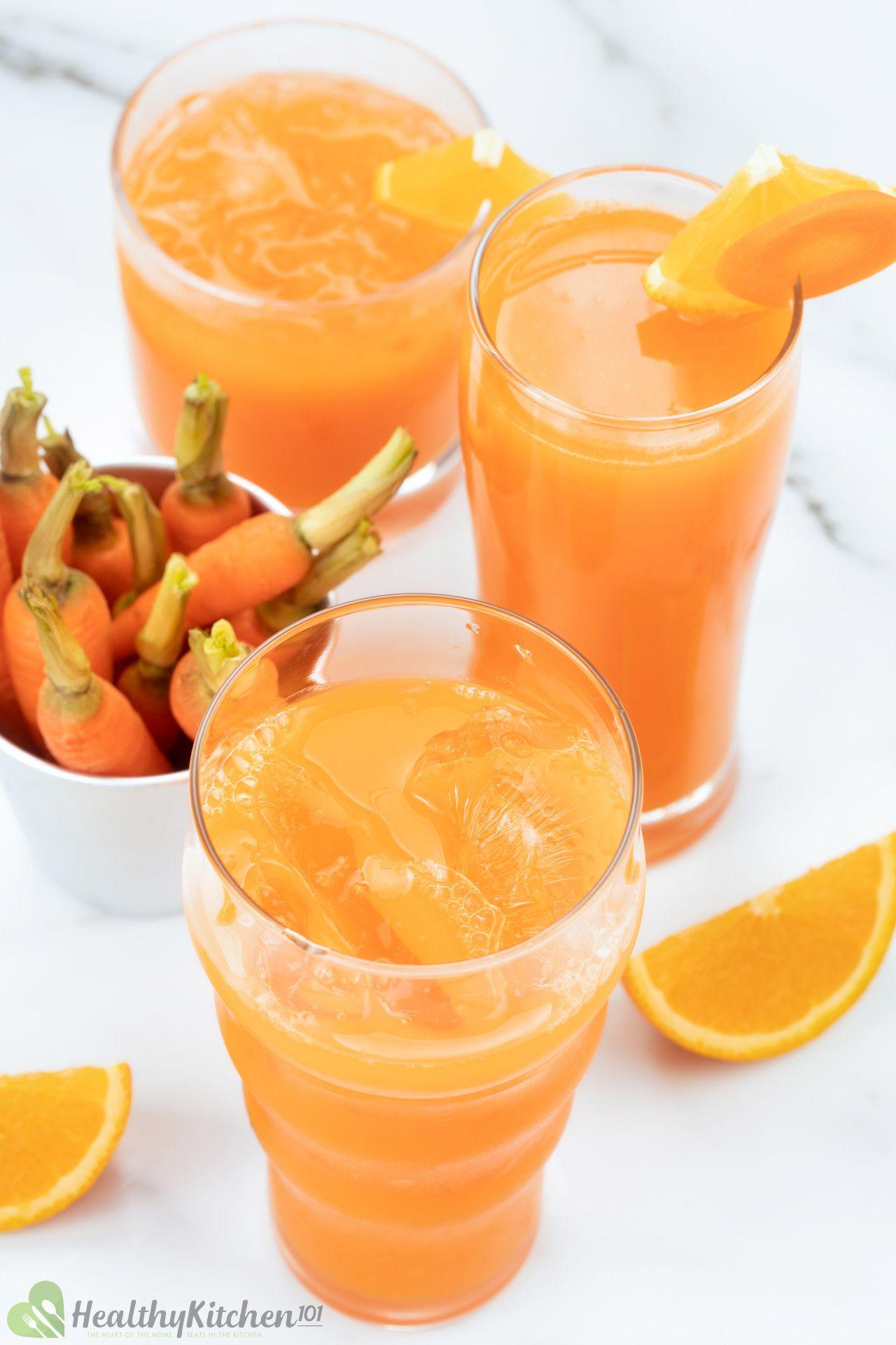 Carrot Orange Juice Recipe