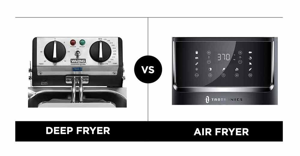 Deep Fryer vs. Air Fryer Temperature Controls
